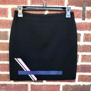 & Other Stories Stretch Knit Mini Skirt